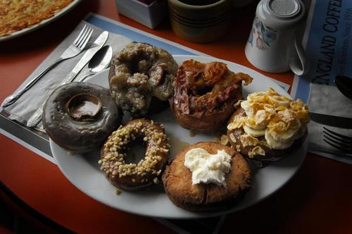 All Kennebec Cafe Donuts are handmade to order!